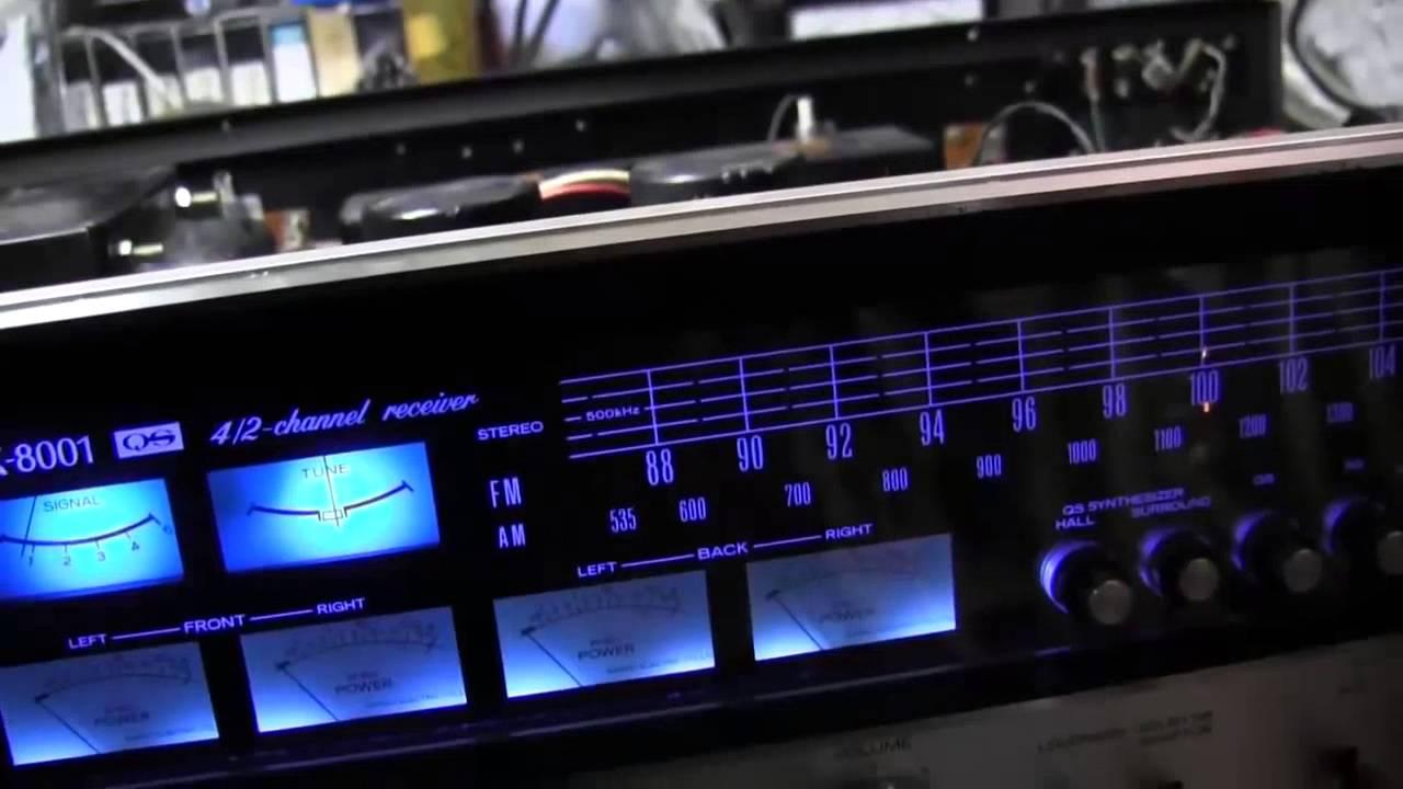 Six Led Stereo Vu Display