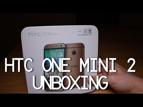 HTC One Mini 2 UNBOXING (GOLD)