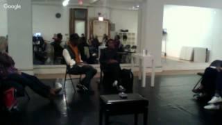 Fall Festival Studies Project: Artist Conversation between Nelisiwe Xaba and David Thomson