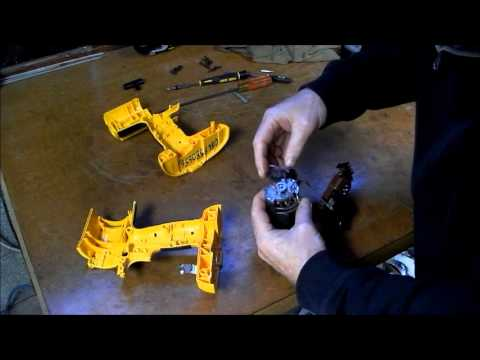 Dewalt Cordless Drill Repair Part 2 Smoking Motor Youtube
