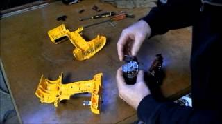 Dewalt cordless drill repair part 2 SMOKING MOTOR