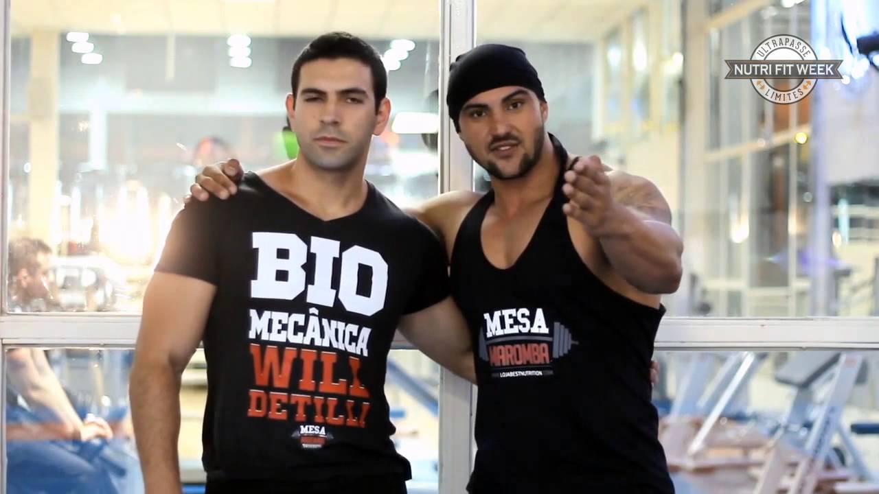 Fit Palestra Will Detilli E Danilo França - Nutri Fit Week - Youtube