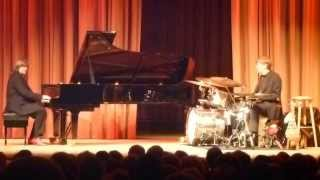 Steamtrain Drumsolo Honky Tonk Train Blues Axel Zwingenberger piano and Torsten Zwingenberger drums7