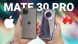 Распаковка Huawei Mate 30 Pro рядом с iPhone 11 Pro Max + камера (фото и видео) / ОБЗОР