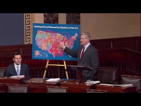 Sen  Hoeven Dakota Access Pipeline Floor Speech