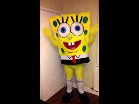 SpongeBob mascot hire