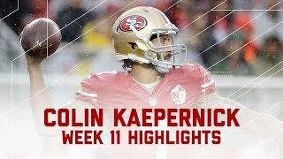 Colin Kaepernick's 2-TD Day! | Patriots vs. 49ers | NFL Week 11 Player Highlights