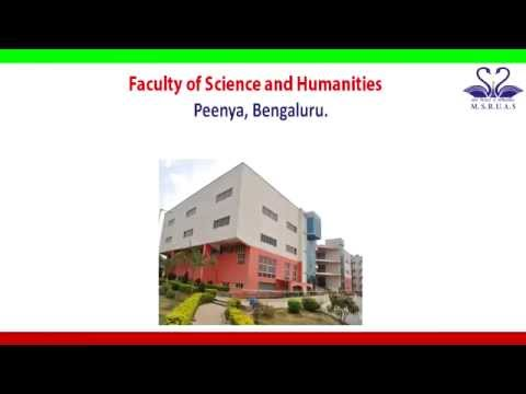 Science and Humanities Courses@M  S  Ramaiah University of Applied Sciences