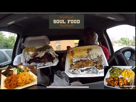 Mr  B's Soul Food, Food Review!!! | EATING SHOW