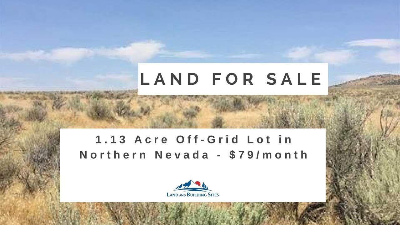 1.13 Acre Off-Grid Lot for Sale in Northern Nevada - $79/month