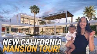 NEW CALIFORNIA HOUSE TOUR!! ($4,000,000 MANSION)