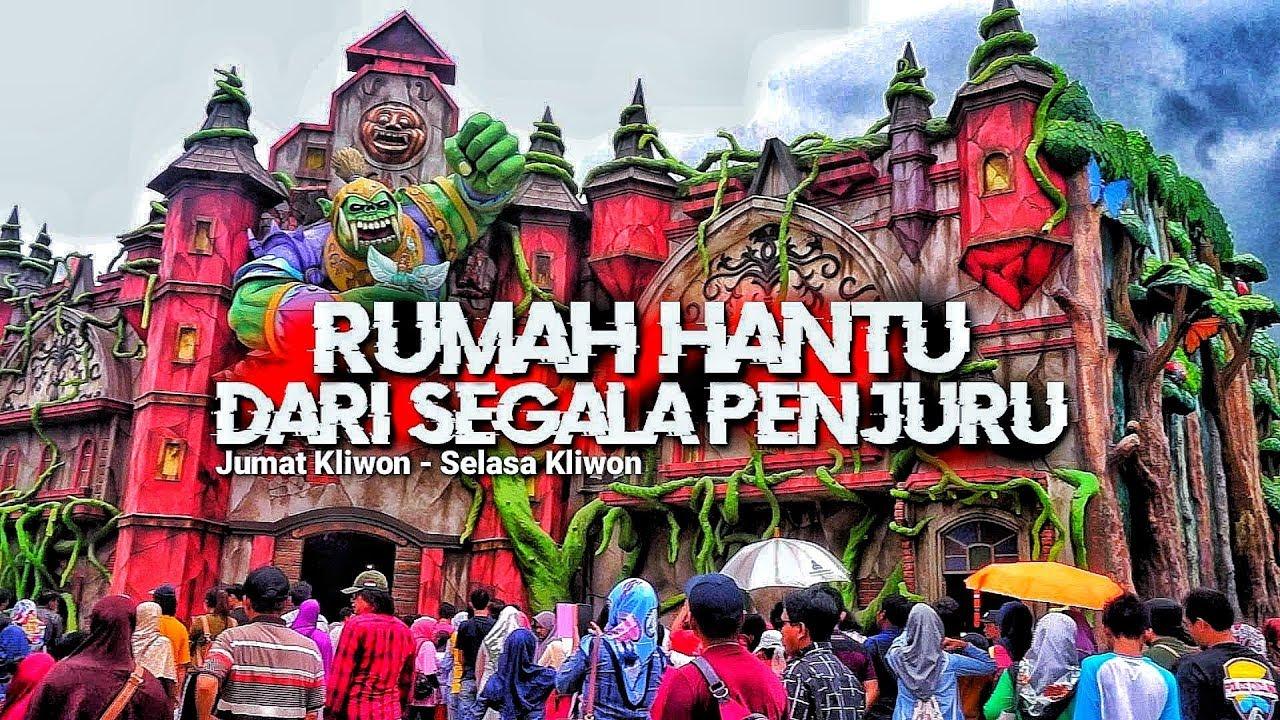 Masuk Rumah Hantu Terbesar Di Jawa Tengah Saloka Theme Park Wisata Semarang