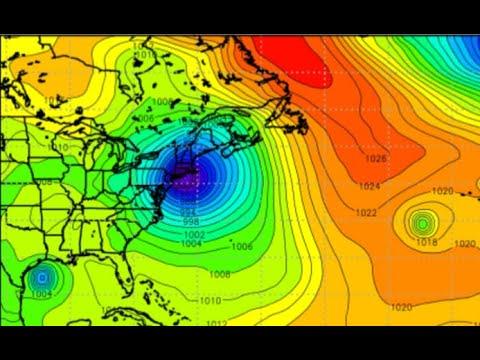 Navy Model Shows Powerful Hurricane Slamming New York/Gulf Update.