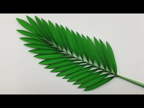 paper-leaf- -paper-leaves-making- -paper-crafts-for-school- -decorative-leaves-making