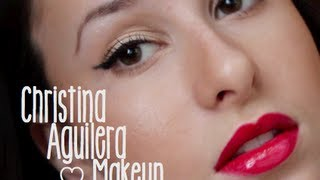 Christina Aguilera 'Candyman' Makeup Tutorial Thumbnail
