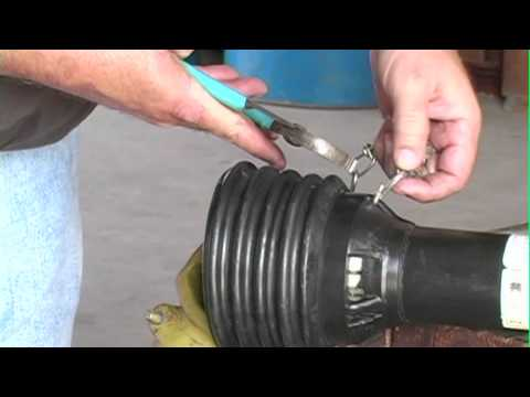 How To Install And Maintain A Shaft Cover On A Tractor Pto