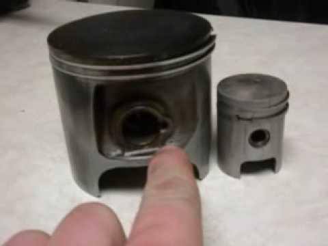 Honda CR500 vs Puch Maxi Piston - YouTube