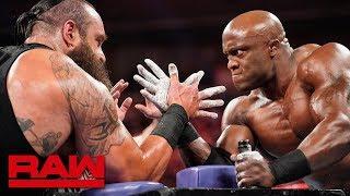 Download Braun Strowman vs. Bobby Lashley – Arm Wrestling Match: Raw, June 3, 2019