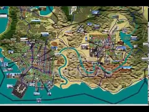 Gta 6 Map Of America.Gta Usa Fan Map