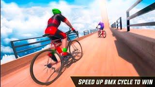 असंभव पटरियों पर साइकिल खेल हिंदी | गेम 2021 Android ios BMX Cycle