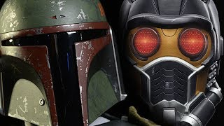 BOBA FETT (Star Wars) vs STAR-LORD (Guardians of the Galaxy) ALTERNATE ENDING