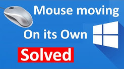 Fix mouse moving on its own in windows 10