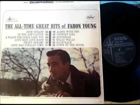 If You Ain't Lovin' , Faron Young , 1954 Vinyl