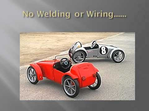 Cars for Kids! Build this Amazing Kids Car from A Swing Bin - YouTube
