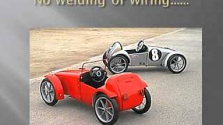 Cars for Kids!  Build this Amazing Kids Car from A Swing Bin
