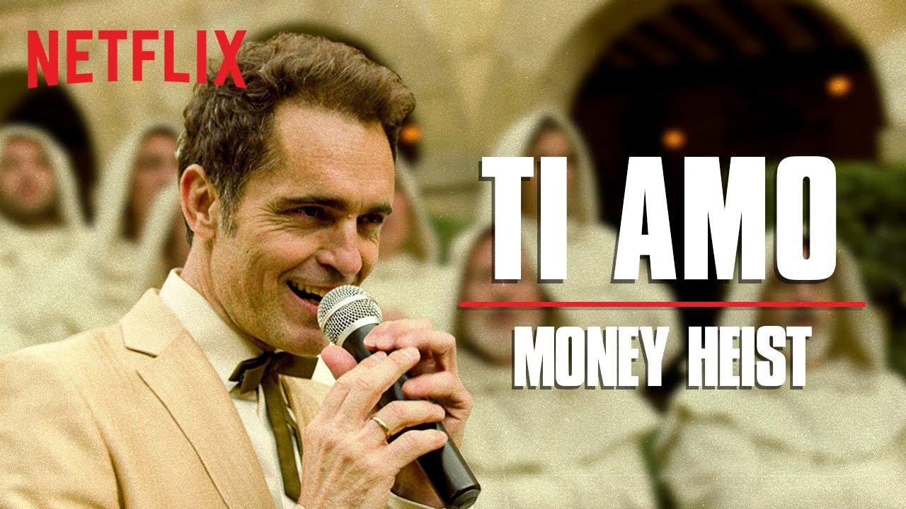 Ti Amo Full Song Ft Pedro Alonso Money Heist La Casa De Papel Netflix India Youtube