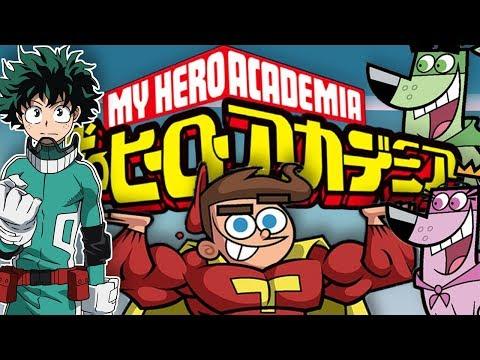 My Hero Academia + Fairly OddParents OP Anime PARODY [Reaction]