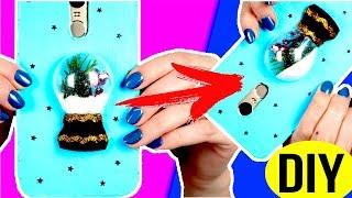 dIY 5 ИДЕЙ Чехлов для телефона из КАРТОНА!  САМЫЕ бюджетные чехлы в мире конкурс  Afinka