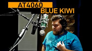 Audio-Technica 4060 vs. Blue Kiwi | VO Mic Comparison