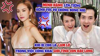 Minh Hằng bênh vực Đông Nhi khi bị tố làm lố trong việc công khai giới tính con đầu lòng l Buzz TV