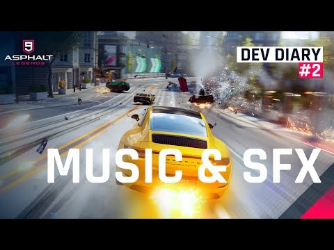 Dev Diary #2 - The Music & SFX of Asphalt 9: Legends