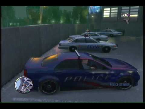 GTA IV Ballad Of Gay Tony (SECRET CAR)   YouTube