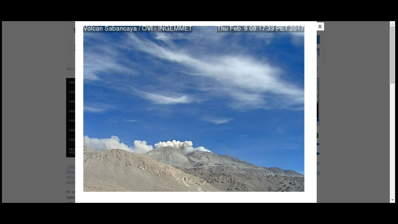 9  51 Pm Gmt 7 51 Am Est Cont Eruption Sabancaya Volcano Peru