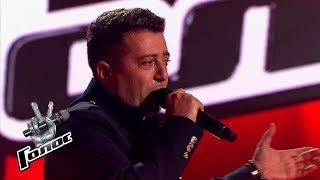 "Vrezh Kirakosyan performs ""Miserere"" - Blind Audition - The Voice Russia - Season 8"