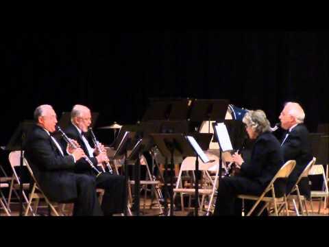 Clarinet Quartet A La Mode