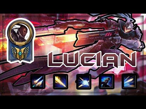 LUCIAN MONTAGE!! (Dash, Dash, And Dash!) - Season 9 - League Of Legends