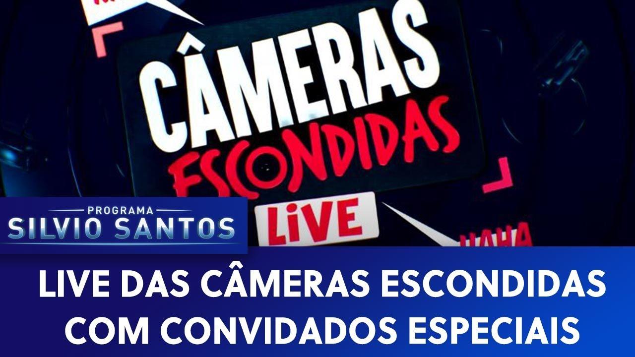 Live das Câmeras Escondidas com convidados especiais | Câmeras Escondidas