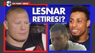 Brock Lesnar Retires? Greg Hardy Cashes Big Payday, Former UFC Title Challenger Reveals CTE
