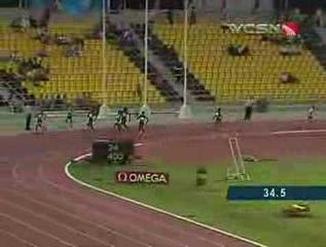 American Felix Achieves Sprint Double in Qatar