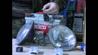 12vi - Реле плавного включения света фар на ЛН H4.