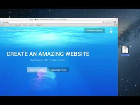TESSERACT WordPress theme, Tesseract wp theme sites using ...