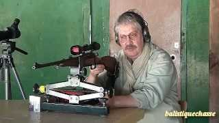 La carabine Mannlicher Luxus cal 270 WSM.
