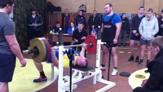 Федотов Тимур. Русский жим 150 кг на 10 раз