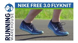 Proporcional puenting Artes literarias  Nike Free 3.0 Flyknit Shoe Review - YouTube