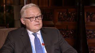 «Россия выстояла под санкциями, и это бесит тех, кто Россию ненавидит» — Сергей Рябков
