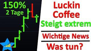 Die luckin coffee aktie ist zuletzt massiv gestiegen. in dieser aktien analyse sprechen wir über historie von coffee, schauen uns mithilfe der cha...